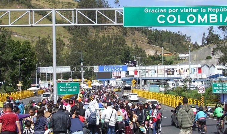 Más de 10 000 venezolanos llegaron a Ecuador el fin de